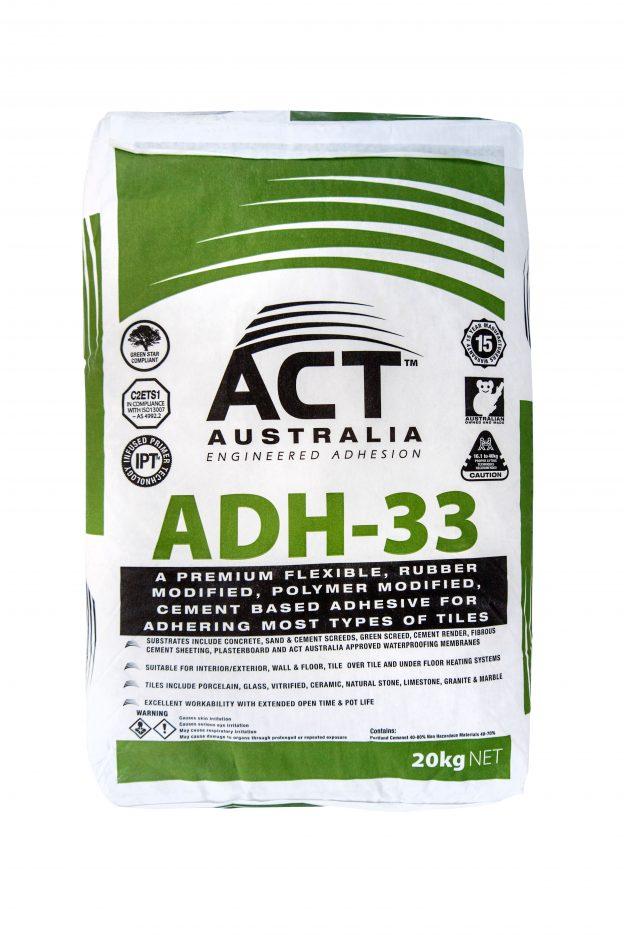 ACT Australia ADH-33 - Tile Glue Sunshine Coast