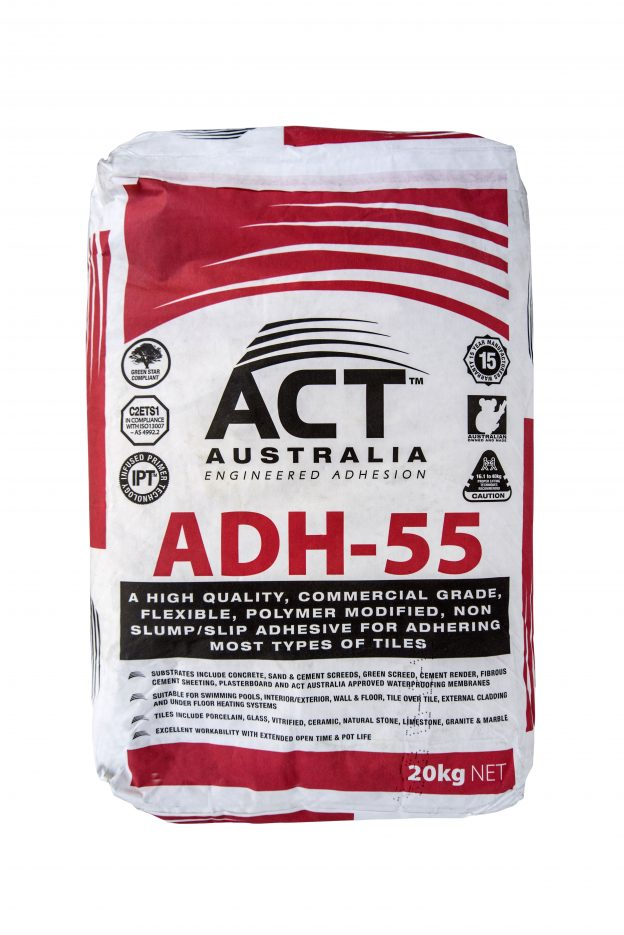 ACT Australia ADH-55 - Tile Glue Sunshine Coast