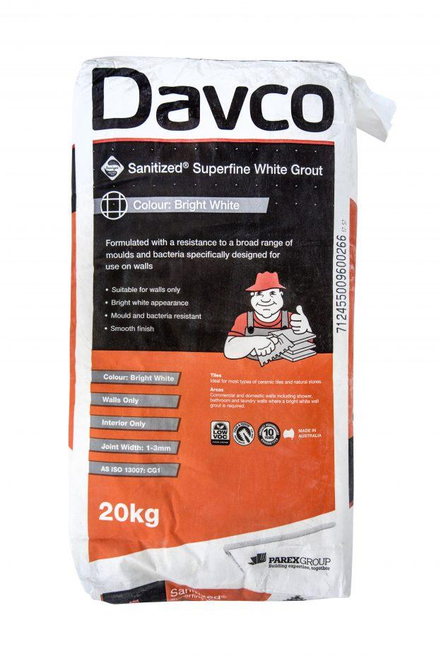 DAVCO-Senitized-Superfine-White-Grout