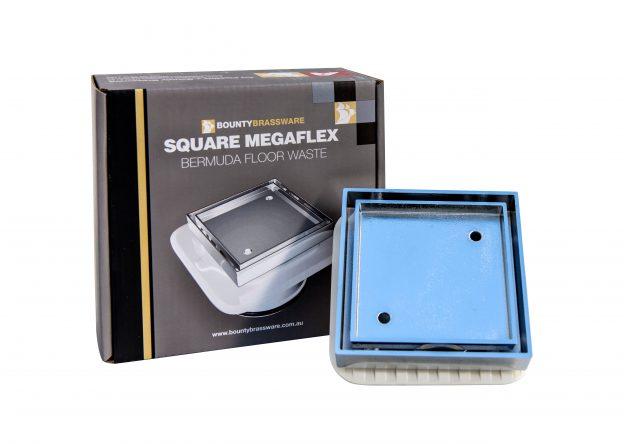 Square megaflex bermuda floor waste