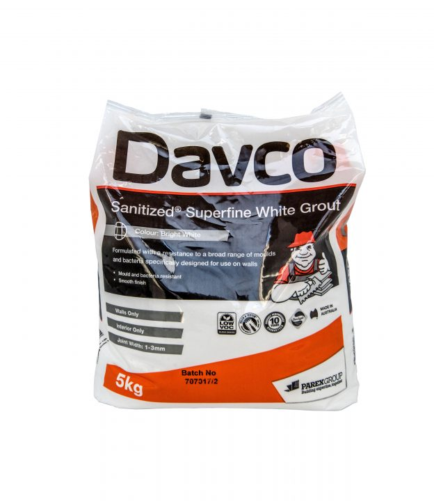 Davco-Sanitized-Superfine-White-Grout