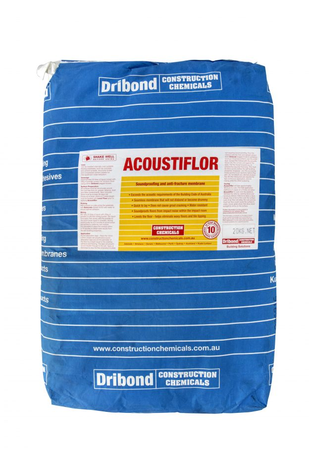 Dribond-Acoustiflor-pack