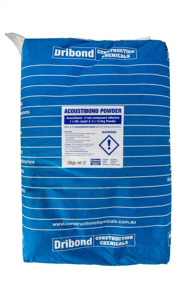 Dribond-acoustibond-powder