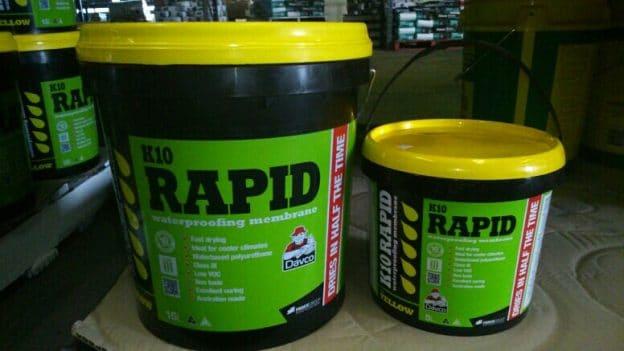 K10 Rapid Waterproofing Membrane