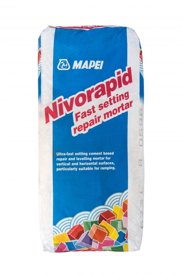 Mapei Nivorapid fast setting repair mortar