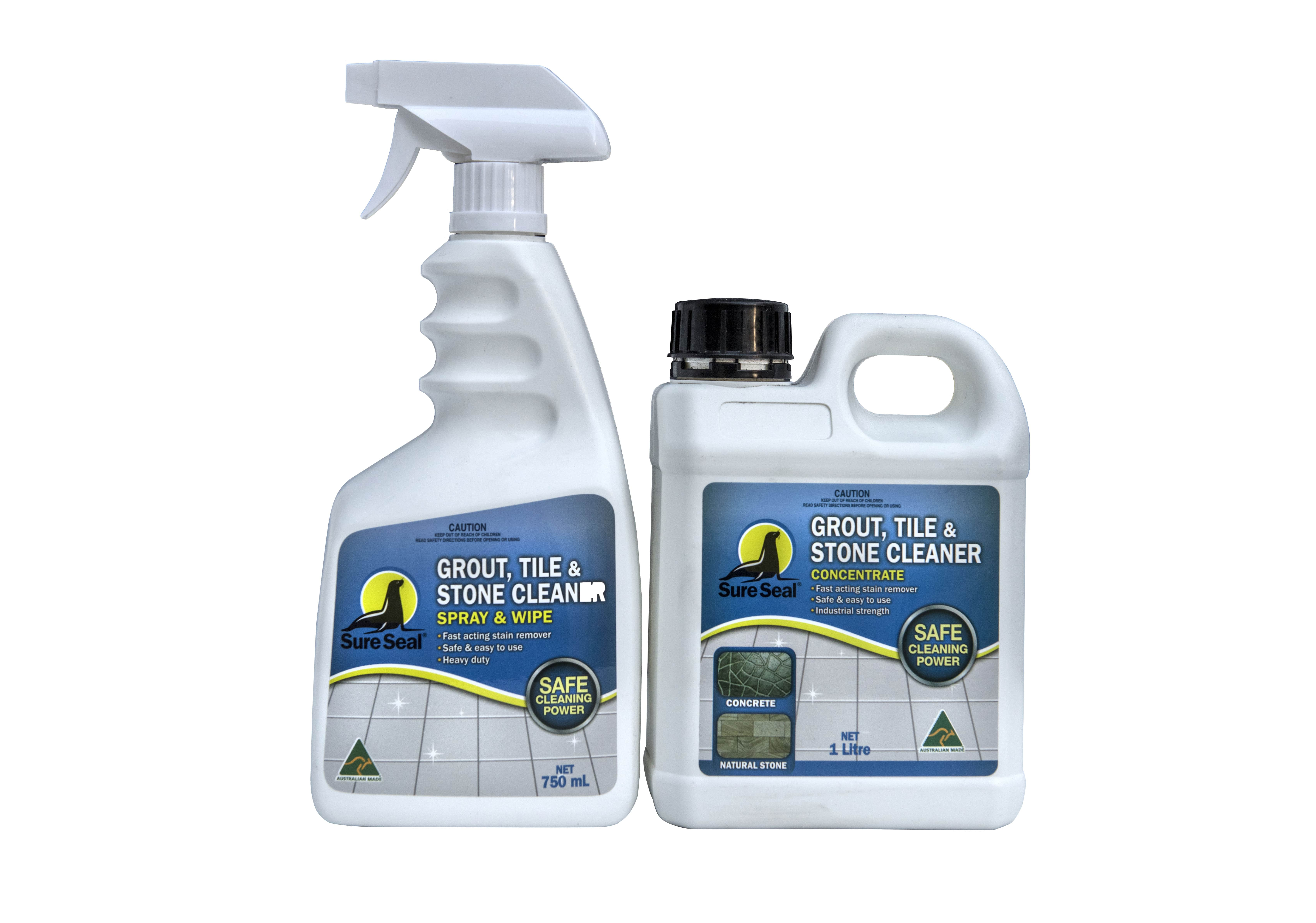 Sure Seal Grout Tile Amp Stone Cleaner