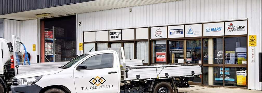 Tilers Trade Centre Shopfront and ute - Tiling Equipment Sunshine Coast