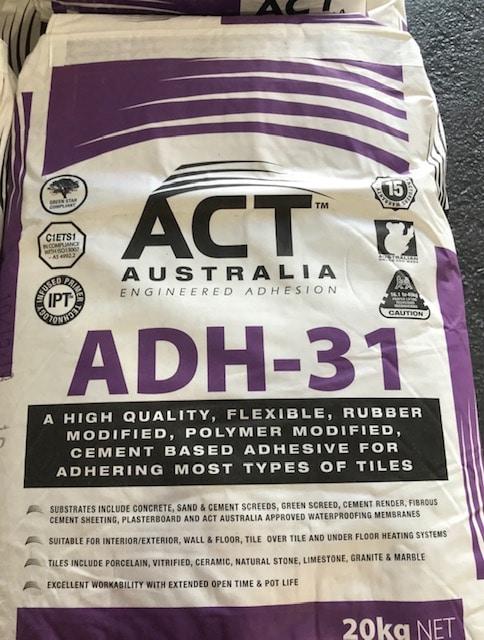 ADH31 tile adhesive